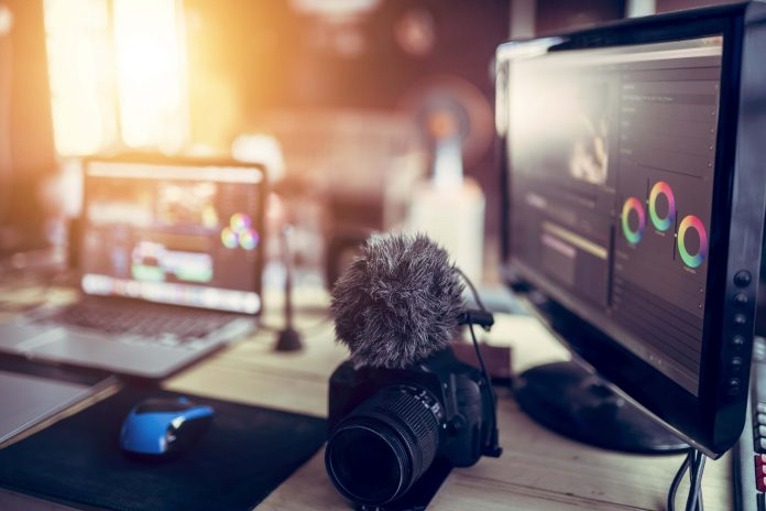 Medieproduksjon. Foto: Adobe Stock