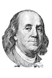 Bilde av Benjamin Franklin